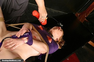 Sweet little tied up gal gets a nice wax - XXX Dessert - Picture 11