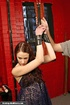 Sweet looking teeny gets gagged and bound by her…