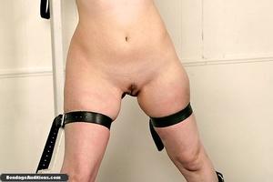 Bondage slut with a trimmed cunt gets he - XXX Dessert - Picture 4
