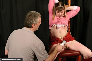 Cute schoolgirl tries to please her naug - XXX Dessert - Picture 14