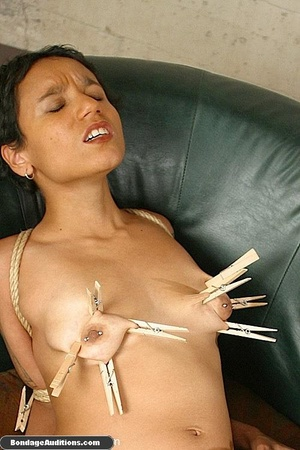 She just loves to feel the pain on her t - XXX Dessert - Picture 14