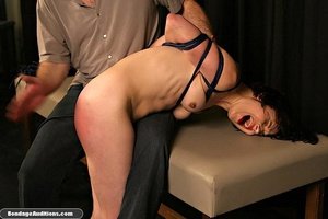 Innocent looking chick gets tied up and  - XXX Dessert - Picture 10