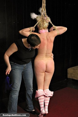 Blonde bunny gets gagged and used by her - XXX Dessert - Picture 6