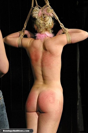 Blonde bunny gets gagged and used by her - XXX Dessert - Picture 9