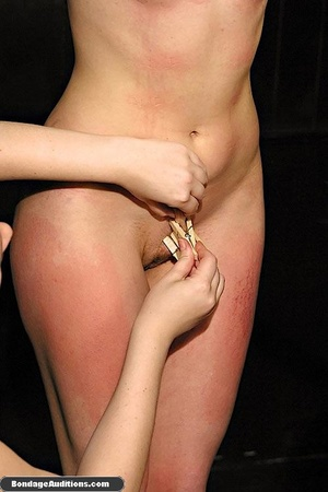 Blonde bunny gets gagged and used by her - XXX Dessert - Picture 11