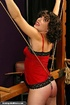 Bound darling is ready for a really painful sex…