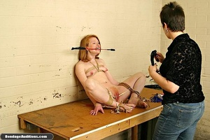 Redhead gal loves clothespins on her lov - XXX Dessert - Picture 12