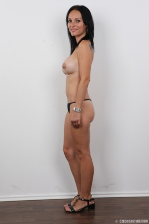 Peach bra and black panties come off bef - XXX Dessert - Picture 7