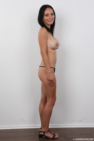 Peach bra and black panties come off bef - XXX Dessert - Picture 8