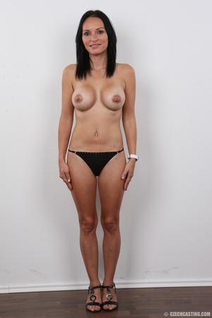 Peach bra and black panties come off bef - XXX Dessert - Picture 10