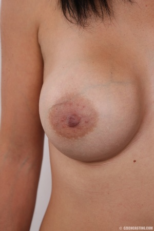 Peach bra and black panties come off bef - XXX Dessert - Picture 12