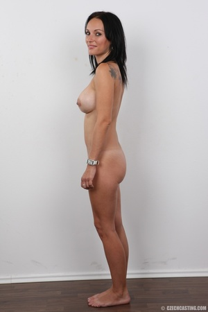 Peach bra and black panties come off bef - XXX Dessert - Picture 14