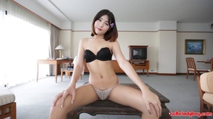Pale-skinned Asian shemale loves to work with cock - XXXonXXX - Pic 3