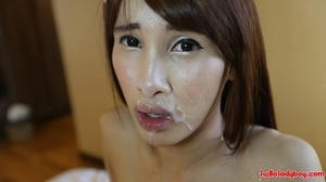 Beautiful Asian tranny is ready to show her talents - XXXonXXX - Pic 11