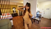 exciting ladyboy takes part