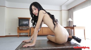 Asian shemale with braces looks awesome without clothes - XXXonXXX - Pic 8