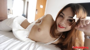 Attractive ladyboy from Asian wants a cock in the butt - XXXonXXX - Pic 2