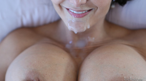 Babe with gigantic boobs gets fucked and - XXX Dessert - Picture 20