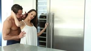 Good looking long haired woman gets plea - XXX Dessert - Picture 1