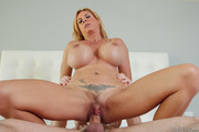 slutty blonde mature lady