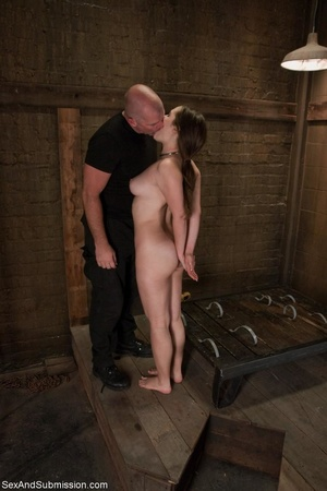 Bound babe experiences electric play and - XXX Dessert - Picture 6