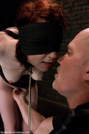 Looks like redhead enjoys bondage and ha - XXX Dessert - Picture 3