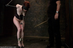 Looks like redhead enjoys bondage and ha - XXX Dessert - Picture 4