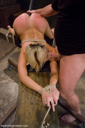 Dominant male uses ropes and black vibra - XXX Dessert - Picture 11