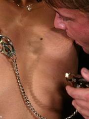 Brunette secretary gets punished by her perverse - XXXonXXX - Pic 6