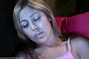 19 year old blondie gets fucked so hard by a experienced dude - XXXonXXX - Pic 1