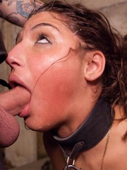 Young brunette slut gets tied up and humiliated by - XXXonXXX - Pic 5