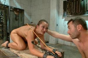 Handsome police agent screws a wonderful brunette in bondage - XXXonXXX - Pic 13