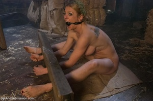 Busty blonde woman gets tied up and screwed with passion - XXXonXXX - Pic 7