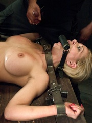 Sweet looking blonde chick gets a big black pecker - XXXonXXX - Pic 18
