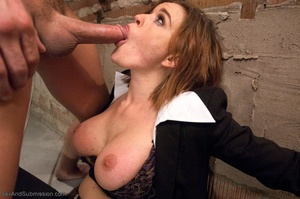 Busty FBI bitch gets tied up and fucked with passion - XXXonXXX - Pic 8