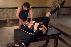 Busty FBI bitch gets tied up and fucked with passion - XXXonXXX - Pic 10