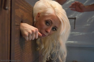Slender blonde gal enjoys rough sex with her kinky man - XXXonXXX - Pic 8
