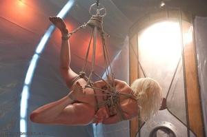 Slender blonde gal enjoys rough sex with her kinky man - XXXonXXX - Pic 11
