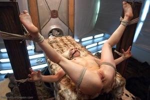 Slender blonde gal enjoys rough sex with her kinky man - XXXonXXX - Pic 12