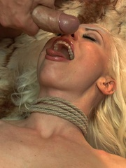 Slender blonde gal enjoys rough sex with her kinky - XXXonXXX - Pic 14