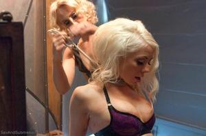 Slender blonde gal enjoys rough sex with her kinky man - XXXonXXX - Pic 18