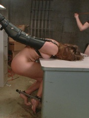 Brunette slut in latex gets tied up and fucked so - XXXonXXX - Pic 14