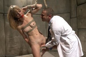 Blonde MILF with glasses gets rammed so rough in the office - XXXonXXX - Pic 8