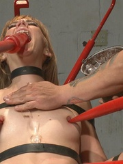 Blonde MILF with glasses gets rammed so rough in - XXXonXXX - Pic 14