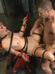 Blonde MILF with glasses gets rammed so rough in - XXXonXXX - Pic 17