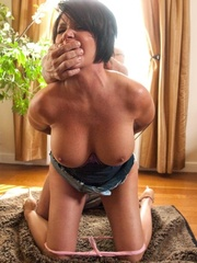 19 year old slut and her stepmom get tied up and - XXXonXXX - Pic 9