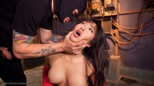 Raven haired Asian lady gets pleased by a freaky young man - XXXonXXX - Pic 6
