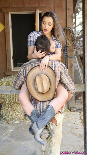 Cowgirl rides an erected dick better than a wild horse - XXXonXXX - Pic 5