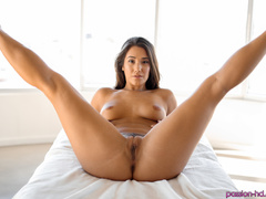Cutie looks hotter getting face and tits covered - XXXonXXX - Pic 6