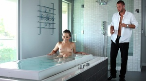 Couple takes bath having hot sex in the early morning - XXXonXXX - Pic 4